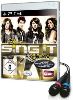 Disney Sing it: Pop Party Bundle + 2 Mikrofone (PS3)
