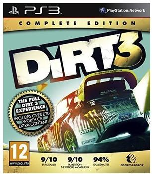 Codemasters DiRT 3 - Complete Edition (PS3)