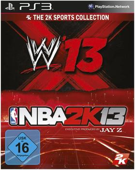 Take 2 The 2K Sports Collection (NBA 2K13 + WWE 13) (PS3)