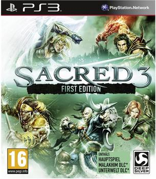 Deep Silver Sacred 3 - First Edition (PEGI) (PS3)