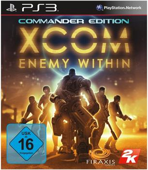 2K Games XCOM: Enemy Within - Commander Edition (PS3)