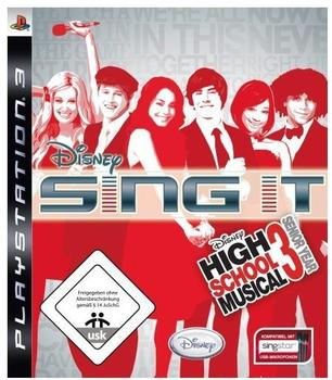 Disney High School Musical 3: Senior Year - Sing it (PS3)