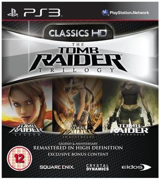Square Enix The Tomb Raider Trilogy (PEGI) (PS3)