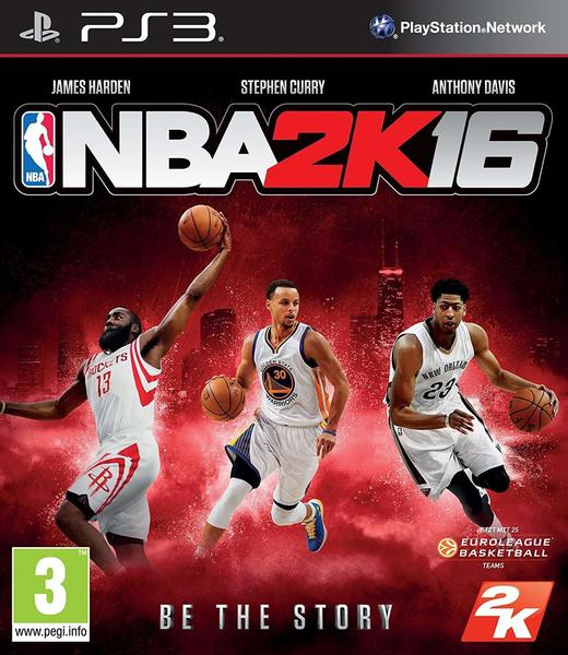 2K Games NBA 2K16 (PEGI) (PS3)