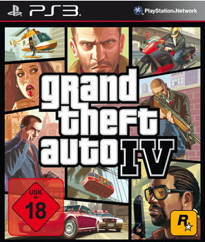 Rockstar Grand Theft Auto IV (PEGI) (PS3)