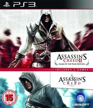 Double Pack - Assassin's Creed I & II (PS3)