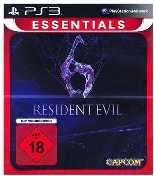 Capcom Resident Evil 6 (Essentials) (PS3)