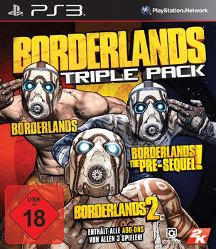2K GAMES Borderlands - Triple Pack (PEGI) (PS3)