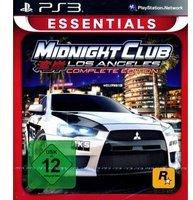 Rockstar Midnight Club: Los Angeles - Complete Edition (Essentials) (PS3)
