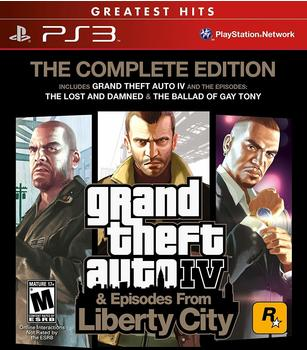 Rockstar Games Grand Theft Auto IV - The Complete Edition (Greatest Hits) (ESRB) (PS3)