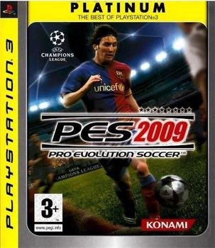 Konami Pro Evolution Soccer 2009 (PEGI) (Platinum) (PS3)