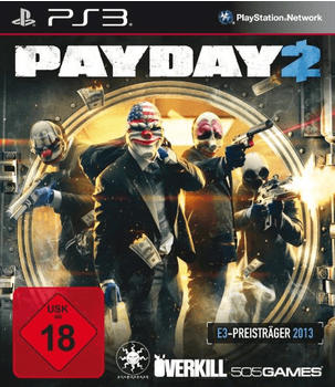 505 Games PayDay 2 (ESRB) (PS3)