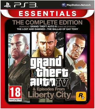 Rockstar Games Grand Theft Auto IV: The Complete Edition (Essentials) (PEGI) (PS3)