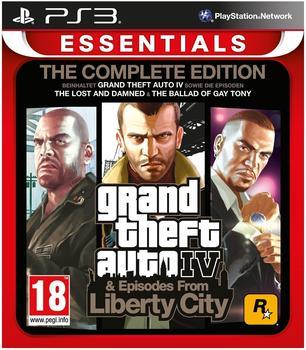 Rockstar Games Grand Theft Auto IV: The Complete Edition (Essentials) (PEGI) (PS3)
