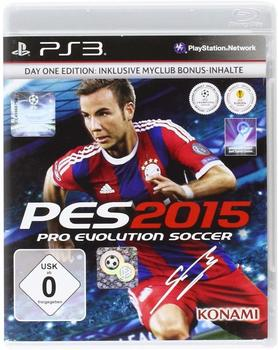 Konami Pro Evolution Soccer 2015 (Essentials) (PS3)