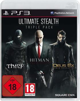 Square Enix Ultimate Stealth Triple Pack: ThiefHitman: AbsolutionDeus Ex: Human Revolution (PS3)