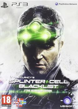 Tom Clancy's Splinter Cell: Blacklist - The Ultimatum Edition (PS3)