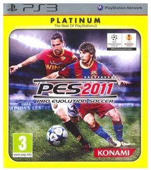 Konami Pro Evolution Soccer 2011 (Platinum) (PEGI) (PS3)