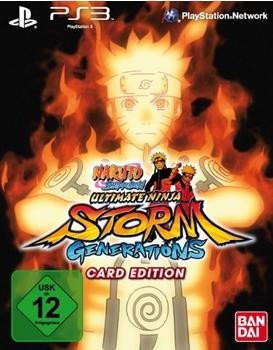 Naruto Shippuden: Ultimate Ninja Storm - Generations - Card Edition (PS3)