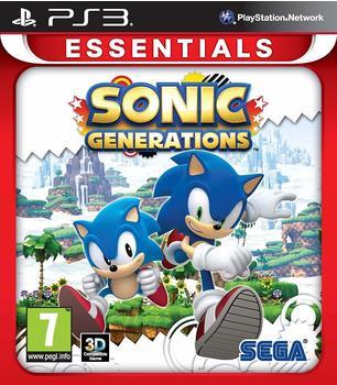 Sony Sonic Generations (Essentials) (PEGI) (PS3)