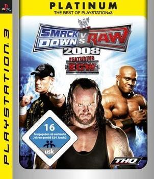 THQ WWE SmackDown vs. Raw 2008 (Platinum) (PS3)