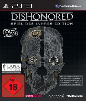 BETHESDA Dishonored: Die Maske des Zorns - Game of the Year Edition (PS3)
