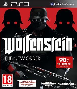 Bethesda Wolfenstein: The New Order (PEGI) (PS3)