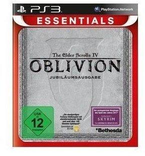 Bethesda The Elder Scrolls IV: Oblivion - Jubiläumsausgabe (Essentials) (PS3)