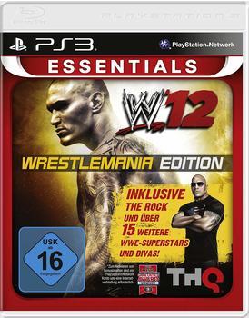 THQ WWE 12 - Wrestlemania Edition (Essentials) (PS3)