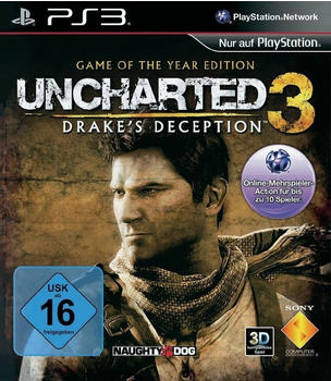 Sony Uncharted 3: Drakes Deception - Game of the Year Edition (PS3)