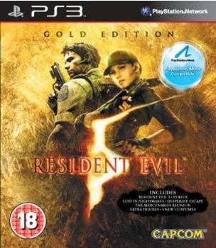 Capcom Resident Evil 5 - Gold Edition (Move) (PEGI) (PS3)