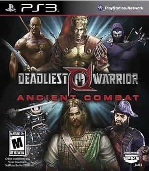 Deadliest Warrior Ancient Combat (PS3)