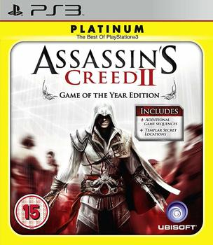 Ubisoft Assassins Creed II - Game of The Year Edition (Platinum) (PEGI) (PS3)