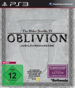 Bethesda The Elder Scrolls IV: Oblivion (Jubiläumsausgabe) (PS3)
