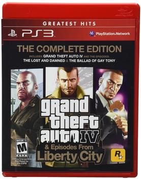 Rockstar Games Grand Theft Auto IV - Complete Edition (ESRB) (PS3)