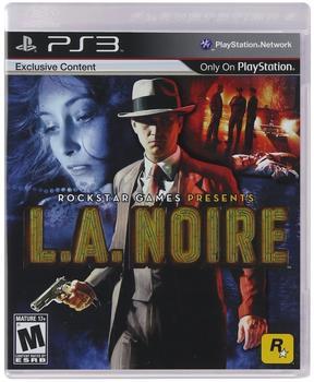 Rockstar Games L.A. Noire (ESRB) (PS3)