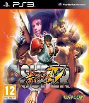 Capcom Super Street Fighter IV (PEGI) (PS3)