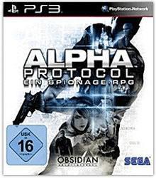 Sega Alpha Protocol (PEGI) (PS3)