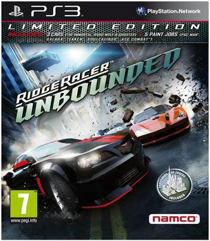 Ridge Racer: Unbounded - Limited Edition (PS3)