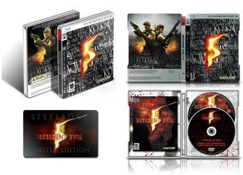 Capcom Resident Evil 5 - Steelbook Edition (PEGI) (PS3)