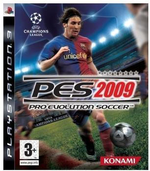Konami Pro Evolution Soccer 2009 (PEGI) (PS3)