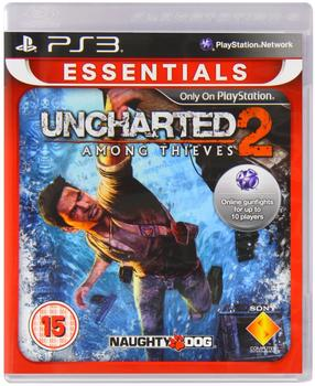 Sony Uncharted 2: Among Thieves (Essentials) (PEGI) (PS3)