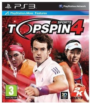 Sony Top Spin 4 (PEGI) (PS3)