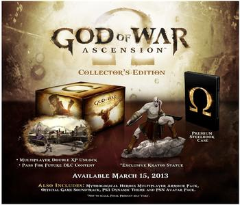 Sony God of War: Ascension - Collectors Edition (PEGI) (PS3)