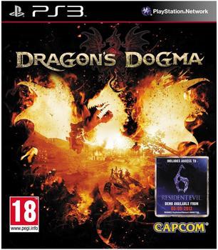 Capcom Dragons Dogma inkl. Resident Evil 6 Demo Code, geb. - PS3