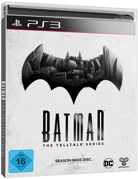 Warner Batman: The Telltale Series - Season Pass Disc (PS3)