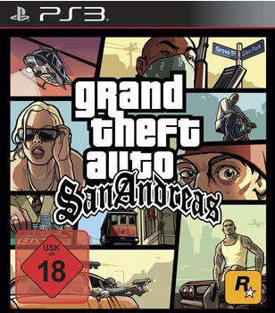 Take 2 Grand Theft Auto: San Andreas (PEGI) (PS3)