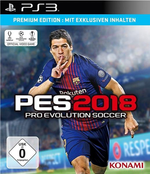 Pro Evolution Soccer 2018: Premium Edition (PS3)