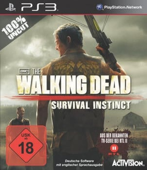 Activision The Walking Dead: Survival Instinct (PS3)