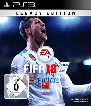 Electronic Arts FIFA 18 Legacy Edition PS3 USK: 0